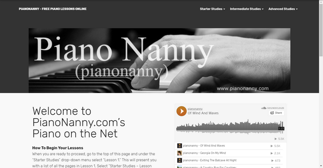 Pianonanny Free Piano Lessons Online